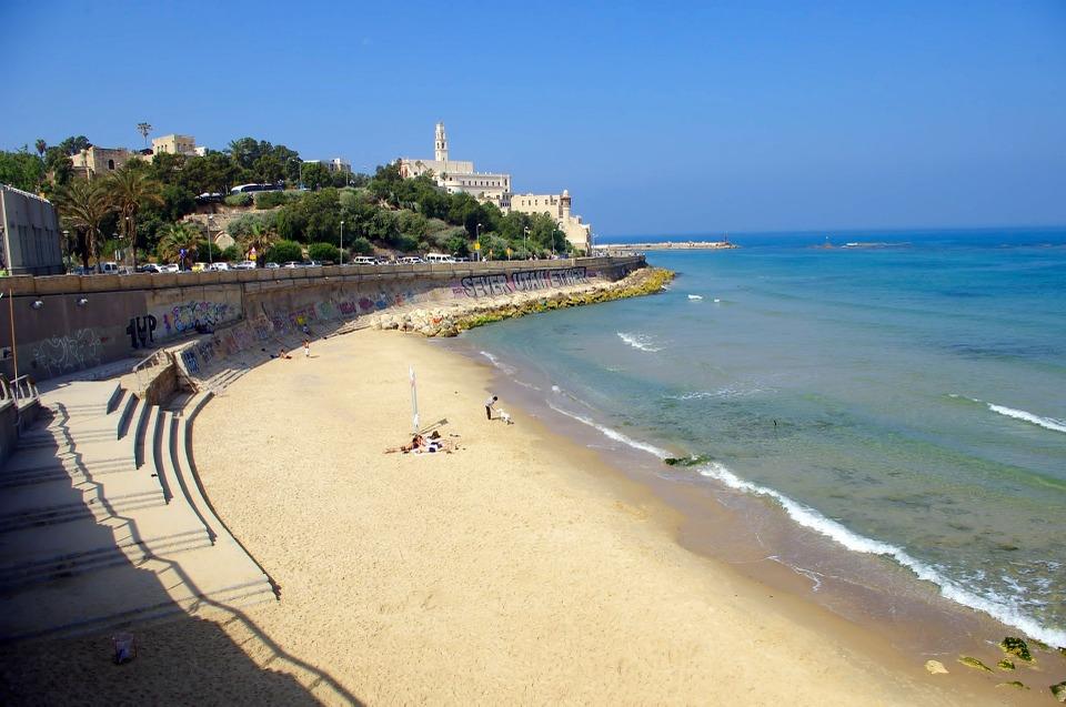 israel plage